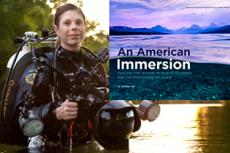 Underwater photographer Jennifer Idol, author of An American Immersion