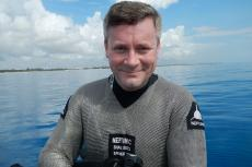 Jonathan Bird, Jonathan Birds Blue World, Rosemary E Lunn, Roz Lunn, Beneath the Sea, dive show, X-Ray Mag, X-Ray Magazine, scuba diving news, scuba diving awards