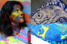 Marine artist and printmaker Patricia Knight