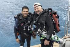 David Burroughs, TDI, Hollis, Oceanic,Beneath The Sea Award, Rosemary E Lunn, Roz Lunn, XRay Magazine, X-Ray Mag, scuba diving news,